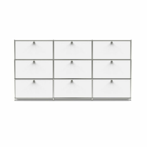 Highboard T33 inox mit Klappen